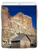 Frutia Schoolhouse Capitol Reef National Park Utah Duvet Cover by Jason O Watson