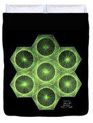 Fusion  Duvet Cover by Jason Padgett