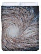 Galactic Amazing Dance Duvet Cover by Georgeta  Blanaru