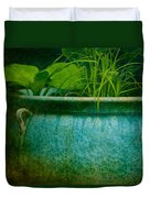 Gardenscape Duvet Cover by Amy Weiss