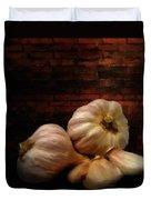 Garlic Duvet Cover by Lourry Legarde