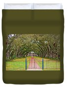 Gateway To The Old South Duvet Cover by Steve Harrington