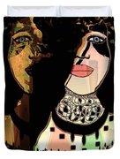 Gemini Duvet Cover by Natalie Holland