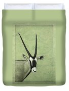 Gemsbok Duvet Cover by James W Johnson