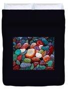 Gemstones Duvet Cover by Barbara Griffin