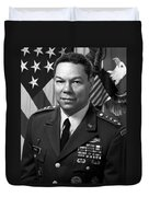 General Colin Powell Duvet Cover by War Is Hell Store