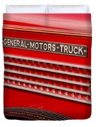 General Motors Truck Duvet Cover by Thomas Young
