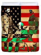 General Robert E Lee Duvet Cover by Wingsdomain Art and Photography