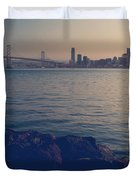 Gently the Evening Comes Duvet Cover by Laurie Search