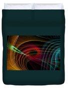 Geometric 8 Duvet Cover by Mark Ashkenazi
