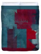 Geomix 03 - S330d05t2b2 Duvet Cover by Variance Collections