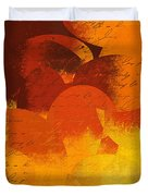 Geomix 05 - 01at02 Duvet Cover by Variance Collections