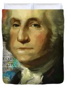 George Washington Duvet Cover by Corporate Art Task Force