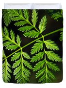 Gereric vegetation Duvet Cover by Carlos Caetano