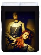 German Mannequins Duvet Cover by Halifax Photography John Malone