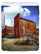 Ghost Towns in the SouthWest Duvet Cover by  Bob and Nadine Johnston