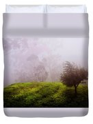 Ghost Tree In The Haunted Forest. Nuwara Eliya. Sri Lanka Duvet Cover by Jenny Rainbow