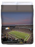 Gillette Stadium In Foxboro  Duvet Cover by Juergen Roth