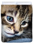 Gizmo Feeling Blue Duvet Cover by Terri Waters
