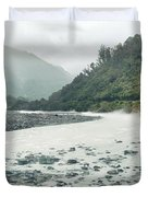 Glacial river Duvet Cover by MotHaiBaPhoto Prints