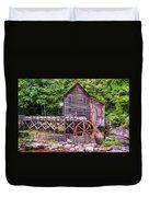 Glade Creek Grist Mill Duvet Cover by Steve Harrington