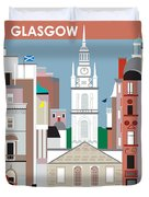Glasgow Duvet Cover by Karen Young