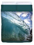 Glass Surge Duvet Cover by Sean Davey