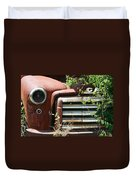 Gmc Grill Work Duvet Cover by Kathy Clark