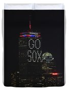 Go Boston Red Sox Duvet Cover by Juergen Roth