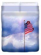 God Bless America Duvet Cover by Kume Bryant