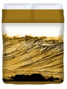 Gold Nugget Duvet Cover by Sean Davey