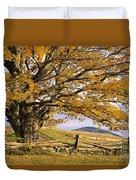Golden Autumn Duvet Cover by Alan L Graham