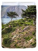 Golden Gate Trail Duvet Cover by Kate Brown