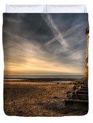 Golden Light Duvet Cover by Adrian Evans