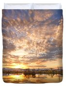 Golden Ponds Scenic Sunset Reflections 5 Duvet Cover by James BO  Insogna