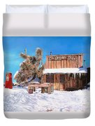 Goldpoint-nevada Duvet Cover by Guido Borelli