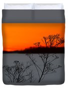 Gone Is The Sun Duvet Cover by Rachel Cohen