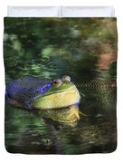 Good Vibrations Duvet Cover by Donna Kennedy