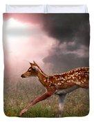 Goodbye Bambi Duvet Cover by Bill Stephens