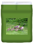 Goose Step Duvet Cover by Will Borden
