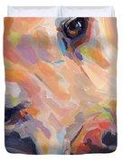Grace Duvet Cover by Kimberly Santini