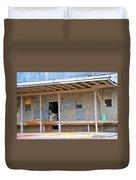 Grain Elevator Duvet Cover by Terri Gostola