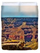 Grand Canyon Mather Viewpoint Duvet Cover by Bob and Nadine Johnston