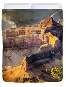 Grand Canyon National Park Duvet Cover by Bob and Nadine Johnston