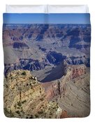 Grand Canyon South Rim Duvet Cover by Patrick Jacquet