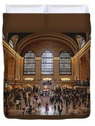 Grand Central Duvet Cover by Andrew Paranavitana