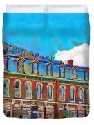 Grand Imperial Hotel Duvet Cover by Jeff Kolker