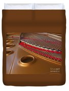 Grand Piano Duvet Cover by Ann Horn
