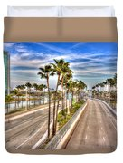 Grand Prix Of Long Beach Duvet Cover by Heidi Smith