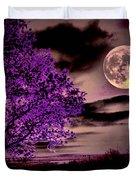 Grape Leaves Duvet Cover by Robert McCubbin